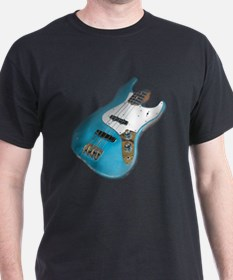 Blue Relic Bass Guitar T-Shirt