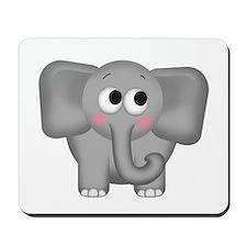 Adorable Elephant Mousepad