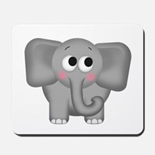 Adorable Elephant Mousepad