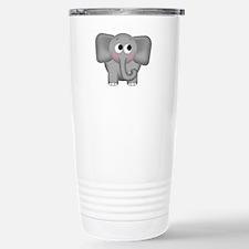Adorable Elephant Stainless Steel Travel Mug