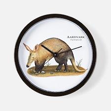 Aardvark Wall Clock