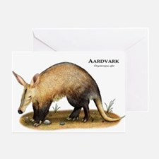 Aardvark Greeting Card