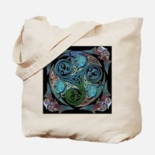 Celtic Spiral of Life Tote Bag