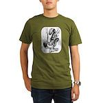 Squirrels Organic Men's T-Shirt (dark)