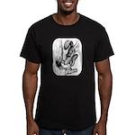 Squirrels Men's Fitted T-Shirt (dark)