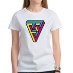 CMYK Triangle Women's T-Shirt