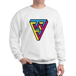CMYK Triangle Sweatshirt