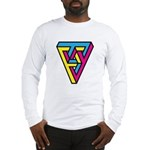 CMYK Triangle Long Sleeve T-Shirt