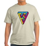 CMYK Triangle Light T-Shirt