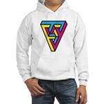 CMYK Triangle Hooded Sweatshirt