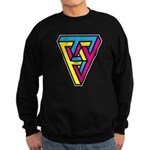 CMYK Triangle Sweatshirt (dark)