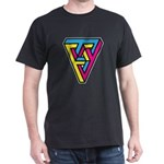 CMYK Triangle Dark T-Shirt