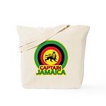 Captain Jamaica Tote Bag