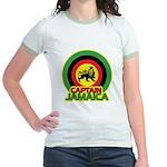 Captain Jamaica Jr. Ringer T-Shirt