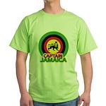 Captain Jamaica Green T-Shirt