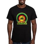Captain Jamaica Men's Fitted T-Shirt (dark)