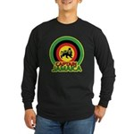 Captain Jamaica Long Sleeve Dark T-Shirt