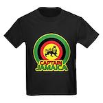 Captain Jamaica Kids Dark T-Shirt