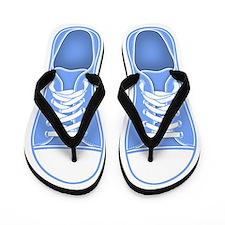 Blue Sneaker Flip Flops