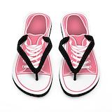 Flip flops plain pink Flip Flops