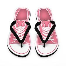 Pink Sneaker Flip Flops