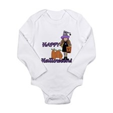 Lil Witch Long Sleeve Infant Bodysuit
