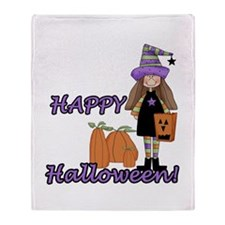 Lil Witch Throw Blanket
