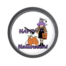 Lil Witch Wall Clock