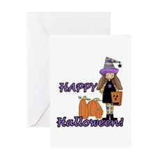 Lil Witch Greeting Card