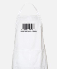 REGISTERED U.S. CITIZEN BBQ Apron