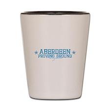 Aberdeen Proving Grounds Shot Glass