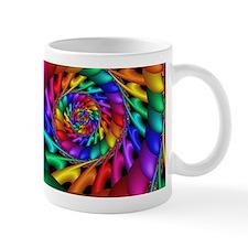 """Color 11"" Fractal Art Small Mugs"