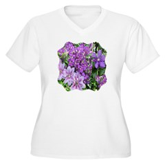 Purple and Pink Clematis T-Shirt