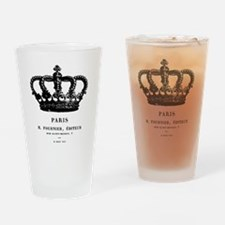PARIS CROWN Drinking Glass