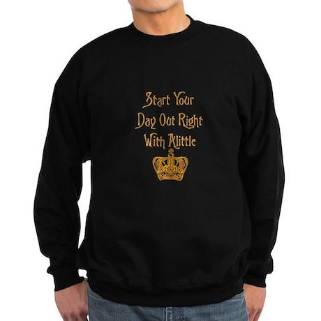 Alittle Crown Sweatshirt (dark)
