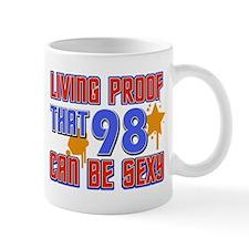 Cool 98 year old birthday design Mug
