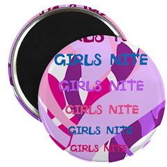 OYOOS girls nite design Magnet