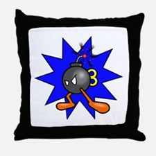 Bomb Throw Pillow