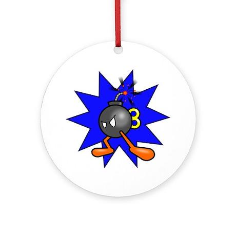 Bomb Ornament (Round)