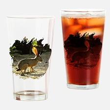 Texas Jackolope Drinking Glass