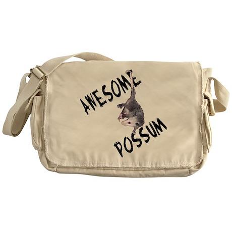 Awesome Possum Messenger Bag