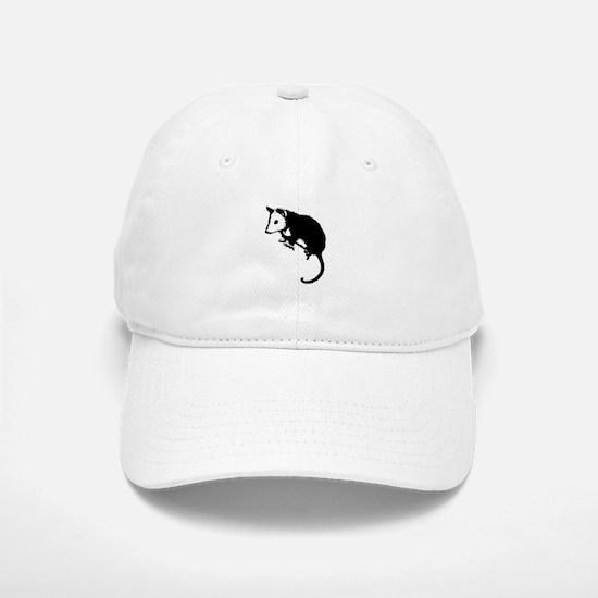 Possum Silhouette Baseball Baseball Cap