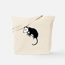 Possum Silhouette Tote Bag