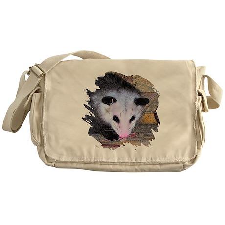 Virginia Opossum Messenger Bag