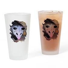 Virginia Opossum Drinking Glass