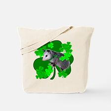 Lucky Irish Possum Tote Bag
