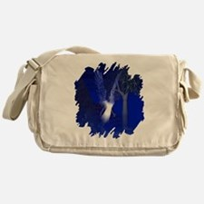 Iridescent Angel Messenger Bag