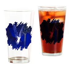 Iridescent Angel Drinking Glass