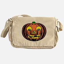 Vintage Jack-O-Lantern Messenger Bag