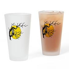 Harvest Moon Owl Drinking Glass